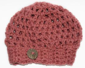 Slouch Beanie - Teaberry Pink