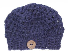 Slouch Beanie - Navy