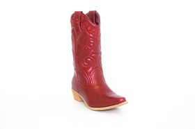 Bronx Westee Cowboy Boot in Red