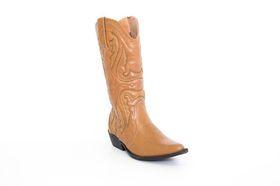 Savoy Cowboy Boot in Tan