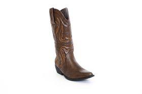 Savoy Cowboy Boot in Brown