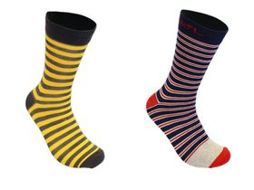 Undeez French Stripes 2pack Trouser Sock - (Size: 7-11)