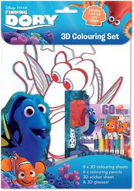 Finding Dory 3D Colouring Set