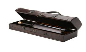 Eco - Single Wooden Wine Carry Case