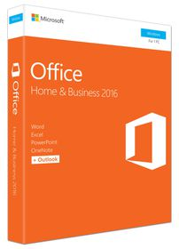 Microsoft Office Home and Business 2016 - Retail FPP