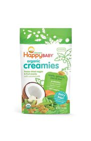 Happy - Creamies Apple - Spinach - Pear and Kiwi - 28g