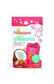 Happy - Creamies Strawberry - Raspberry and Carrot - 28g