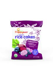Happy - Munchies Blueberry and Beet Rice Cakes - 40g
