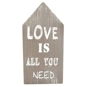 Pamper Hamper - Wood Decor Love Is All You Need