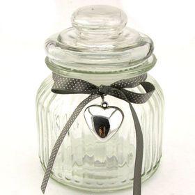 Pamper Hamper - Decorative Glass Jar With Lid