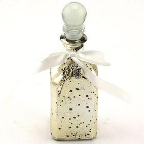 Pamper Hamper - Glass Bottle With Key Decoration