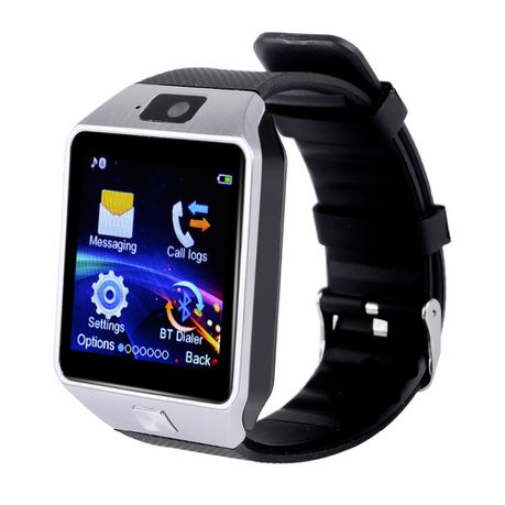 Dz09 Smart Watch Silver Black Buy Online In South Africa