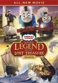 Thomas & Friends: Sodor's Legend Of The Lost Treasure (DVD)