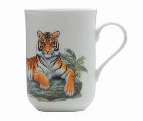 Maxwell and Williams - Cashmere Animals Of The World Mug Tiger - 300ml
