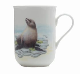 Maxwell and Williams - Cashmere Animals Of The World Mug Seal - 300ml