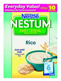 Nestle - NESTUM Baby Cereal Rice from 6 Months - 250g