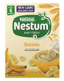Nestle - NESTUM Baby Cereal Banana from 6 Months - 250g