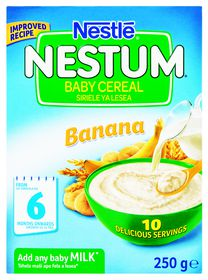 Nestle - NESTUM Baby Cereal Banana from 6 Months - 250g