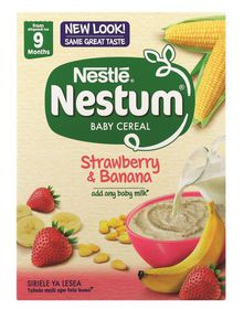 Nestle - NESTUM Baby Cereal Strawberry and Banana from 7 Months - 250g