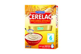 Nestle - CERELAC Baby Cereal Rice from 6 Months - 250g