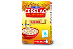 Nestle - CERELAC Baby Cereal Regular from 6 Months - 500g