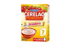 Nestle - CERELAC Baby Cereal Strawberry from 7 Months - 250g