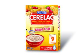 Nestle - CERELAC Baby Cereal Mixed Fruit from 9 Months - 250g