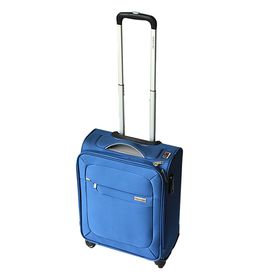 Gino De Vinci Lumiere 48cm Vertical Trolley case - Blue