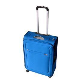 Gino De Vinci Lumiere 59cm Vertical Trolley Case -Blue