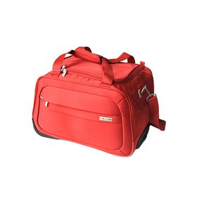Gino De Vinci Lumiere On Board Roller Bag - Red