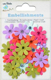 Little Birdie Jeweled Florettes - Brights