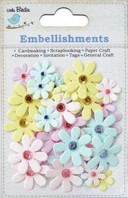 Little Birdie Jeweled Florettes - Pastel Pettle