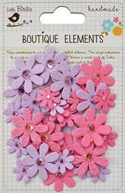 Little Birdie Sparkle Florettes - Mulberry Blush