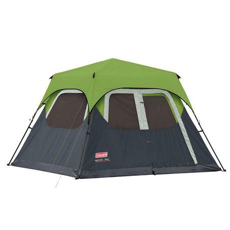 Coleman - 6 Man Instant Cabin Tent u0026 Flysheet - Green  sc 1 st  Takealot.com & Coleman - 6 Man Instant Cabin Tent u0026 Flysheet - Green   Buy Online ...