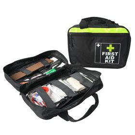 Eco - Medical Aid Bag - Black & Orange