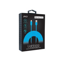 Jivo Lightning to USB Cable 3 Meters X-Long - Blue (MFI)