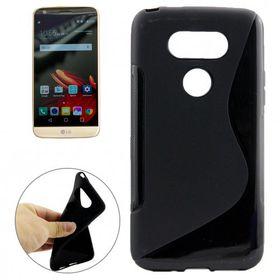 Tuff-Luv TPU Gel Case for LG G5 - Black