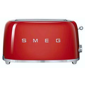 Smeg - 4 Slice Toaster - Fiery Red