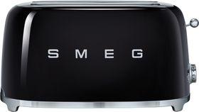 Smeg - 4 Slice Toaster - Glossy Black