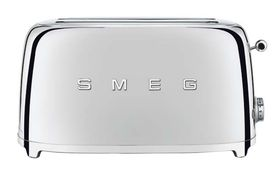 Smeg - 4 Slice Toaster - Chrome