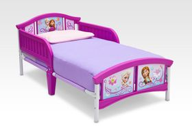 Disney - Frozen Toddler Bed - Purple
