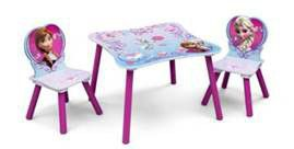 Disney - Frozen Table and Chair Set - Blue and Purple