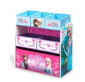 Disney - Frozen Multi Bin Toy Organiser - Blue & Purple