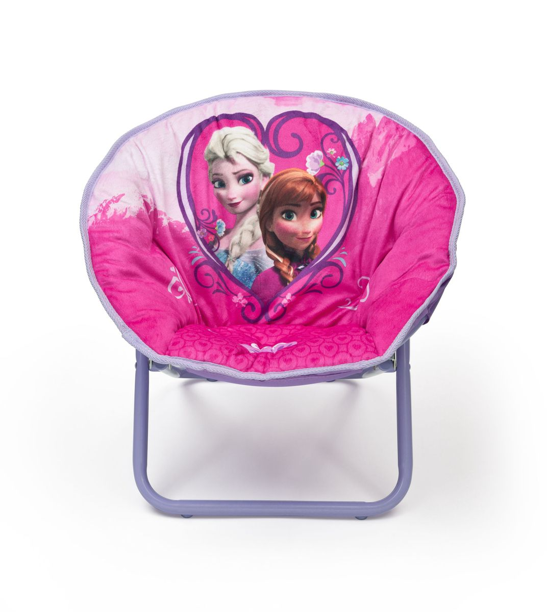 Purple saucer chair - Disney Frozen Saucer Chair Purple Loading Zoom