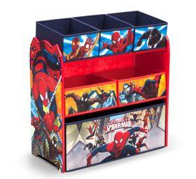 Disney - Marvel Spiderman Multi Bin Toy Organiser - Blue