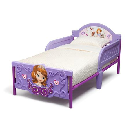 new arrivals 29c24 f1d5f Disney - Sofia the First Toddler Bed