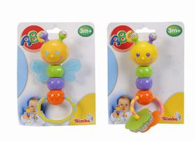 Simba - ABC Rattle with Teething Parts