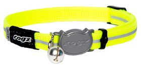 Rogz - 11mm AlleyCat Collar - Yellow