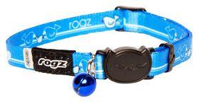 Rogz - KiddyCat 8mm Breakaway Collar - Royal Birds