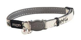 Rogz - GlowCat 8mm Glow-in-the-Dark Collar - Black Cat